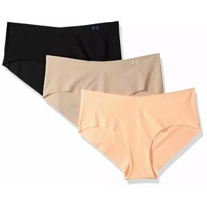 Under Armour 3 Pack Pure Stretch Hiphugger Panties
